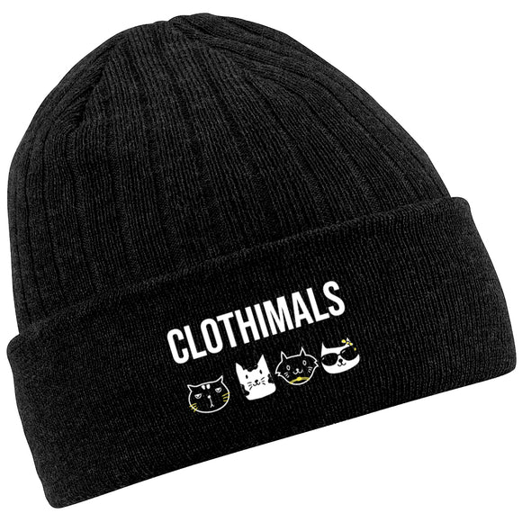 Clothimals Winter Beanie - Black
