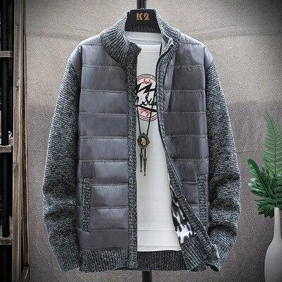 Men's Knitted thicken Sweater Casual Cardigan