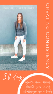 CREATING CONSISTENCY (30 days of September with me)