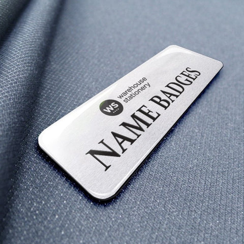 Glazed Name Badges