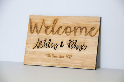 His & Hers Wooden Sign