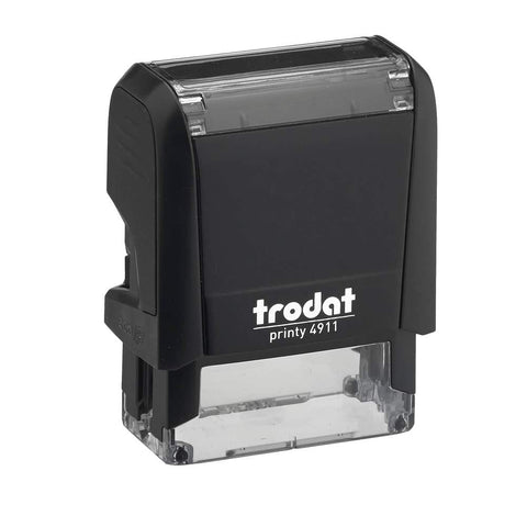 Self Inking Rubber Stamp. Trodat Printy.