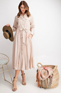 Gone With The Wind Midi Dress