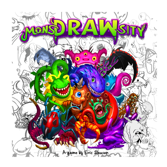 MonsDRAWcity Cover Box