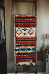 Aztec Double Blanket - Fire at Night