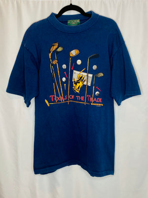 "Golf ""Tools of the Trade"" Vintage Tee"