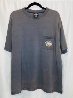 "Harley-Davidson ""New Castle, DE"" Embroidered Tee"