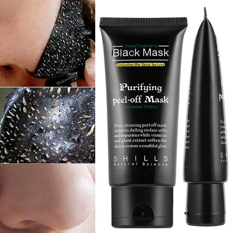 Charcoal Black head  Peel Off Mask