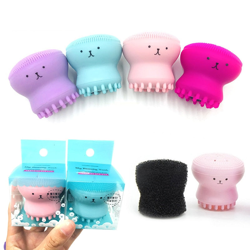 Silicone  Octopus Shape Facial Cleanser