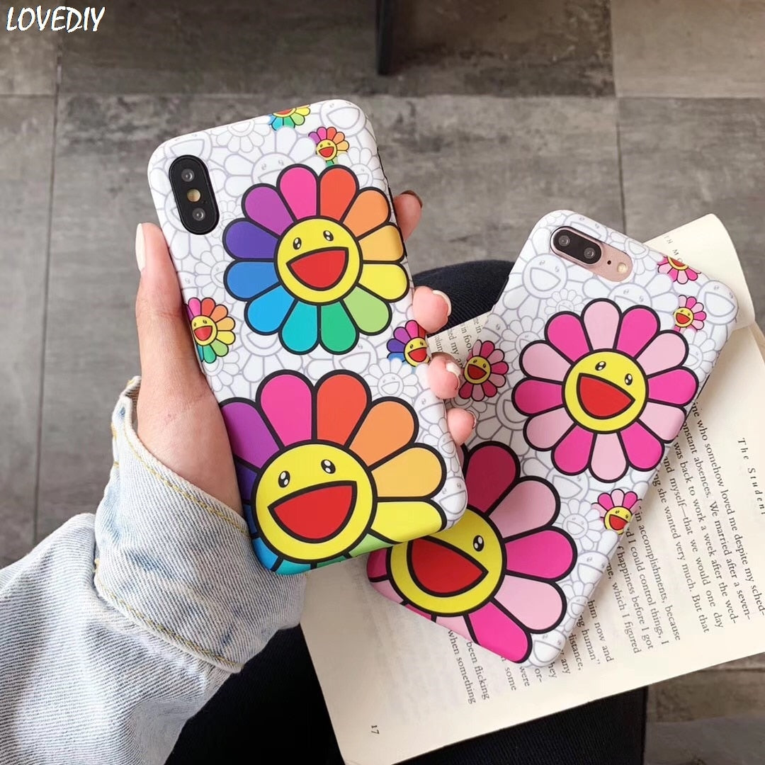 Takashi Sun flower iPhone Case