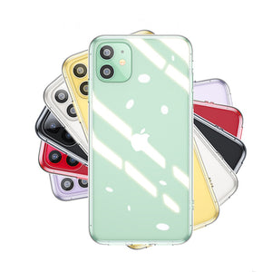 Silicone Soft Ultra Thin Clear Phone Case For iPhone