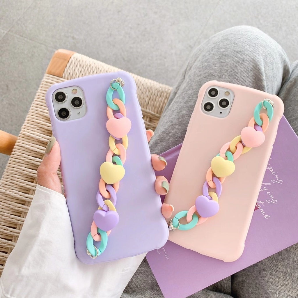 Heart Wristbands Phone Case