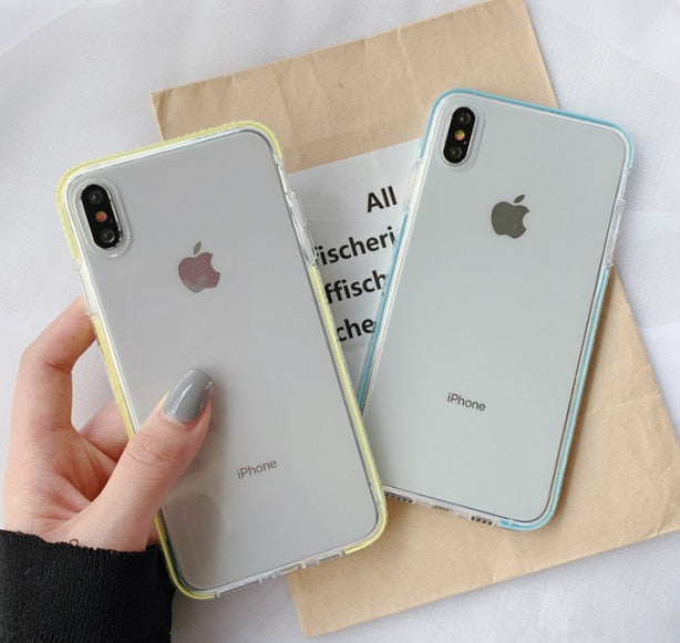 Anti-knock Soft Tpu Silicone Case Cover