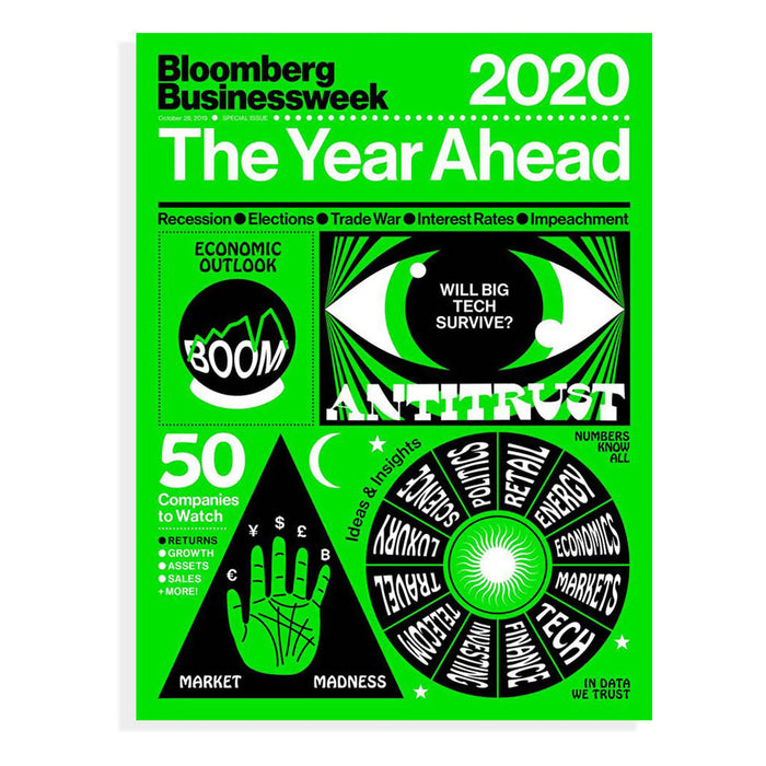 Bloomberg Businessweek 2020 The Year Ahead - Single Issue Magazine