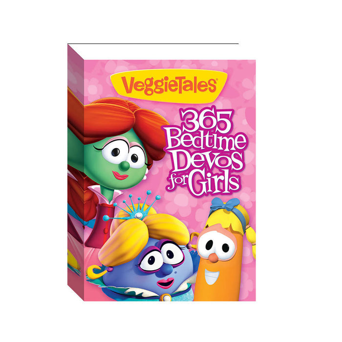 Veggietales: 365 Bedtime Devos for Girls