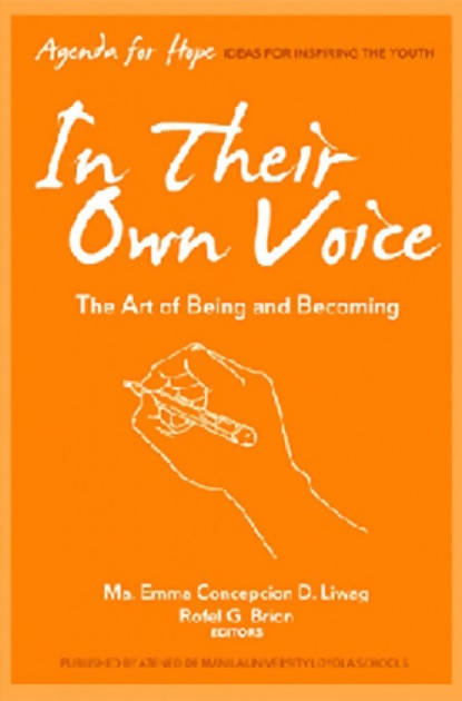 Agenda for Hope In Their Own Voice: The Art of Being and Becoming