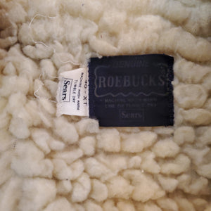 70's Roebuck's Shearling Lined Coat