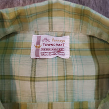 Load image into Gallery viewer, 50's Towncraft Loop Plaid Shirt