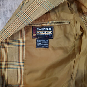 60's Towncraft Plaid Blazer