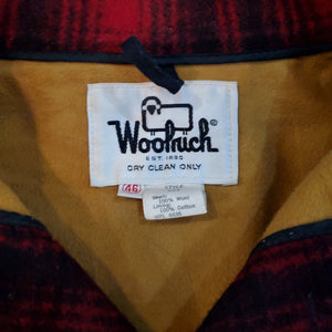 70's Woolrich Plaid Hunting Coat