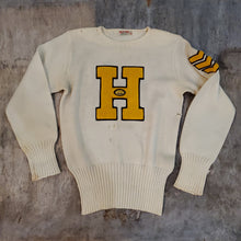 Load image into Gallery viewer, 50's Letterman Sweater