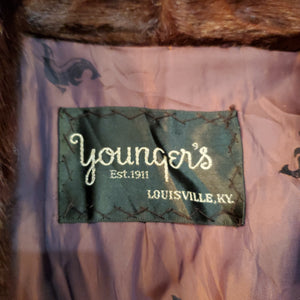 60's Younger's Seal Fur Coat