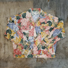 Load image into Gallery viewer, Floral Cropped Jacket