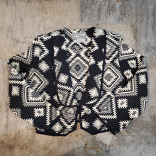 Load image into Gallery viewer, Southwest Argyle Knit Jacket