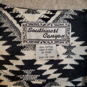 Southwest Argyle Knit Jacket