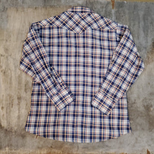 70's BIGMAC Plaid Snap Button Shirt