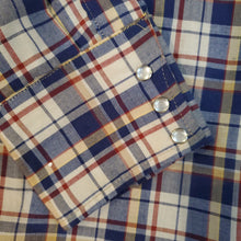 Load image into Gallery viewer, 70's BIGMAC Plaid Snap Button Shirt