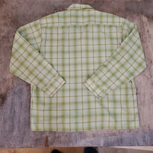 50's Towncraft Loop Plaid Shirt