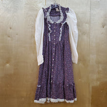 Load image into Gallery viewer, *SOLD* Gunne Sax 70's Floral & Lace Dress