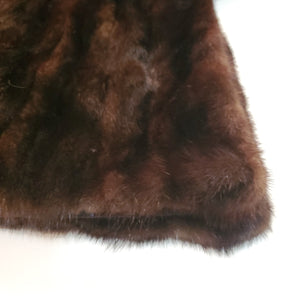 *SOLD* Dark Brown Mink Fur