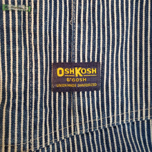 Load image into Gallery viewer, 60's Osh Kosh B'Gosh Striped Overalls