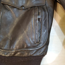 Load image into Gallery viewer, *SOLD* 70's G-1 Brown Leather Jacket
