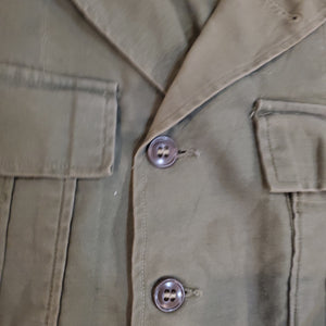 60's Military Canvas Ike Jacket