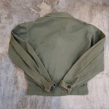 Load image into Gallery viewer, 60's Military Canvas Ike Jacket