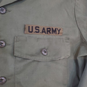 *SOLD* Military Utility Shirt OG-507 Size 16.5 X 32