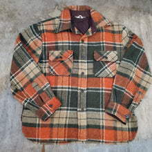 Load image into Gallery viewer, 70's VanCort Plaid C.P.O Size L
