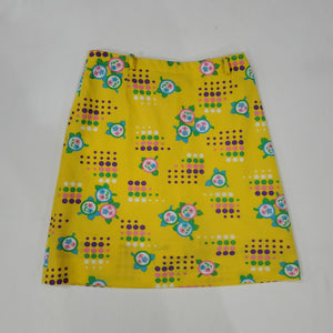 *SOLD* Yellow Floral Skirt Shorts Size 10