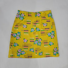 Load image into Gallery viewer, *SOLD* Yellow Floral Skirt Shorts Size 10