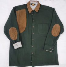 Load image into Gallery viewer, 70's Woolrich Green Wool Shirt Size L