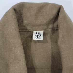 40's Military Wool Flannel Shirt Size 15 32