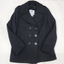Load image into Gallery viewer, 80's Navy Peacoat Size 12R