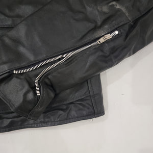 *HOLD* 70's Motorcycle Leather Jacket Size 38 R - Available Soon!