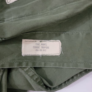 *SOLD* 60's Military Tropical Coat Size Small
