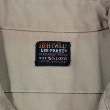 Load image into Gallery viewer, 70's Lee Tech Twill Shirt Size 15.5 Long