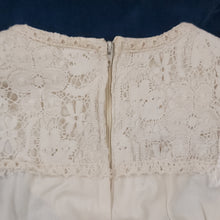 Load image into Gallery viewer, 70's Gunne Sax Cotton Lace & Velour Tiered Dress Size 11