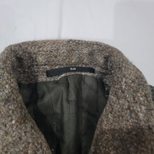 Load image into Gallery viewer, European Tweed Jacket Size 50